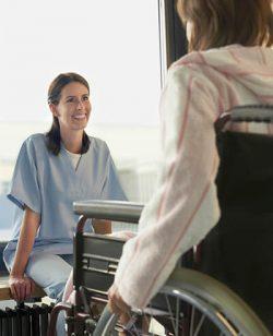 JK Healthcare Wheelchair Patient
